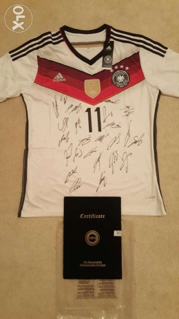 Fifa world cup 2014 full team signed jerseys