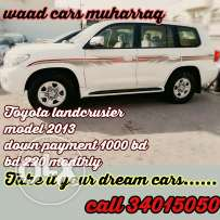 Toyota land crusier 2013 model for you for installments monthly.