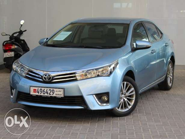 Toyota Corolla Gli 2.0L 2015 Blue For Sale