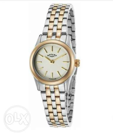 Rotary swiss ladies watch for sale with 1 year warranty.