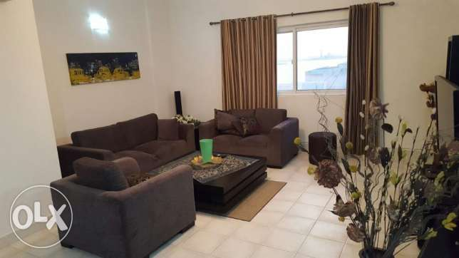 2br sea view flat for rent in amwaj island. 110 sqm