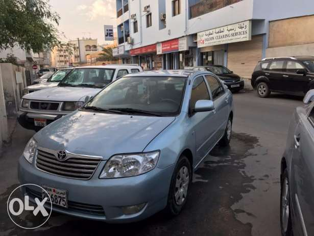 toyota corolla for urgent sale