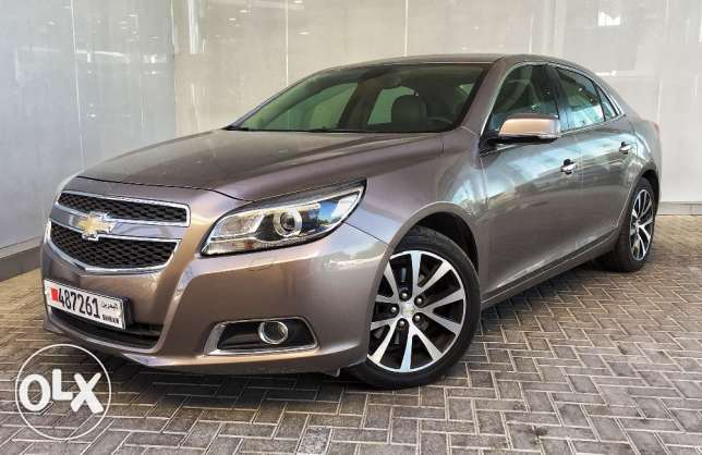 Chevrolet Malibu LTZ 2014 with sunroof