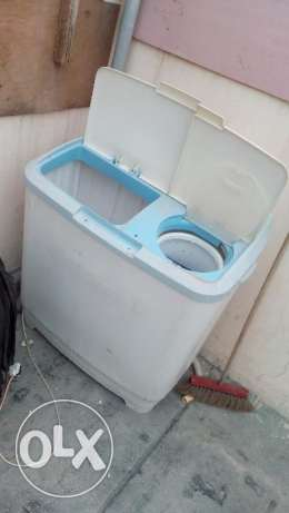Washing machine in working condition