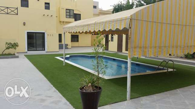 semi furnished private villa close to KSA with pool