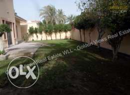3 Bedroom semi furnished villa with large privage garden - all inlcuis