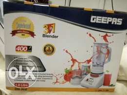 Brand new geepas blender