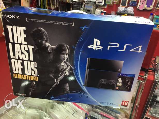 PS4 with gta 5 games