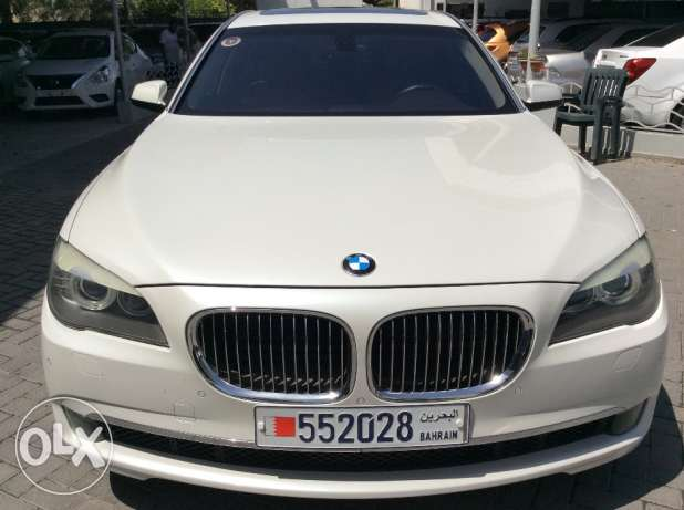 For Sale 2010 BMW 740LI Bahrain Agency