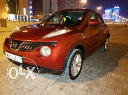 Nissan Juke 2013 Model Maroon colour for sale