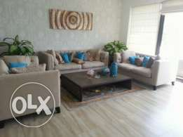 Three Bedrooms Fully Furnished Villa Sea View in Amwaj