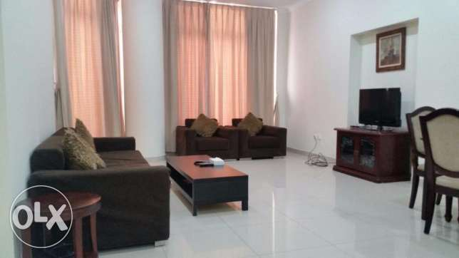 Spacious Apartment for rent in Busaiteen fully furnished.