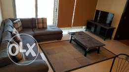Fully furnished 2 BHK flat for rent in Busaiteen at BD 550/per month