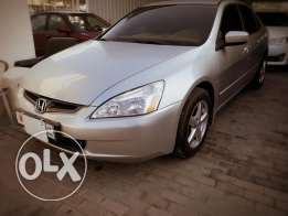 Honda Accord v4 2003 model for sale