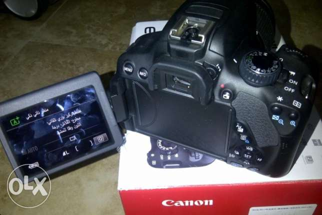 Canon DSLR Camera Tuch Screen 650D