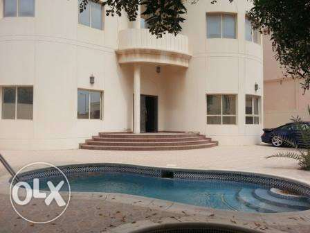 semi furnished villa with pool saraya