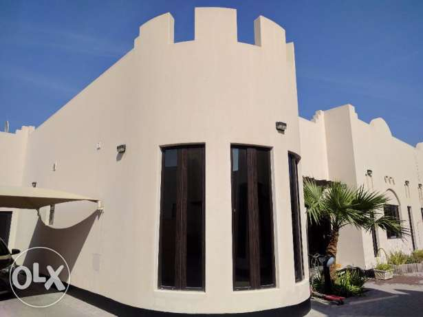 Modern 3 bedroom semi furnished villa for rent with pool,gym
