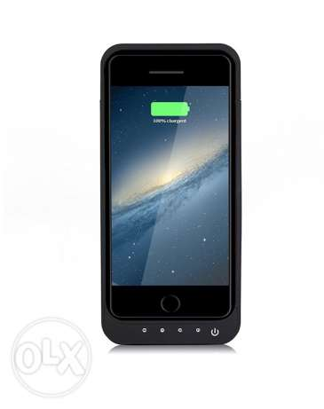 battery case for Iphone 6/6s 5000mAh More features الرفاع‎ -  1