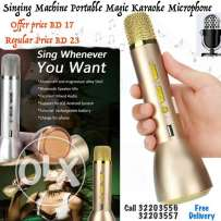 portable magic karaoke microphone