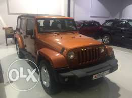 Wrangler Sahara Unlimited 2011