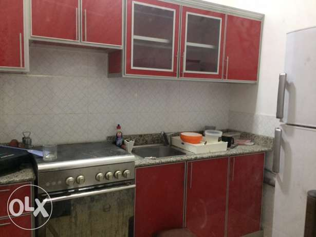fully furnished flat near Contry mall