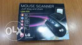 NEW LG mouse scanner