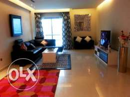 Fully Furnished flat 2 bedrooms sea view in Reef Island