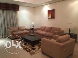 Three Bedrooms Fully Furnished Apartment in Seef Area
