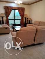 3 bedroom fully furnished flat in New hidd