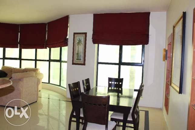 Beautiful flat 2 bedroom f-furnished in Juffair