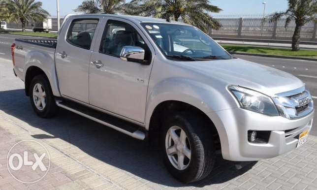 Isuzu D-max 4x4 pickup model 2014 available u drive certified vehicle