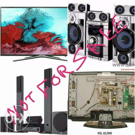 Home Theater LED LCD SMART TV Repair and service