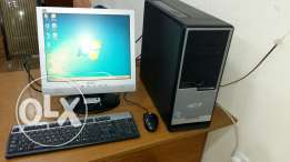 Computer full set pc/ lcd monitor/ keyboard, mouse/ dvd ram