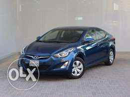Hyundai Elentra 2015 Blue For Sale