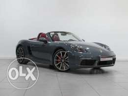 "Porsche 718 Boxster S ""Approved"" 2017MY"