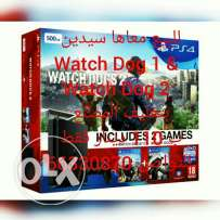 Ps4 Slim Watchdogs edition
