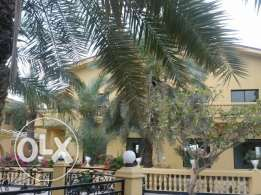 Semi furnished villa for rent at Janabiya