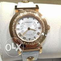 Versace girl watch with gold and diamond
