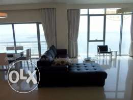 Luxury fully furnished 2 BR flat for rent with sea view - all inclusiv