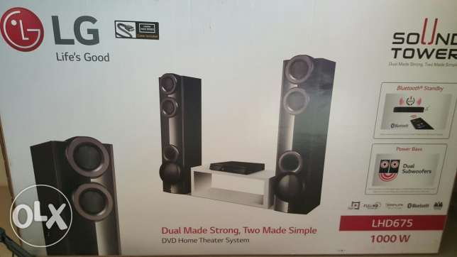 Lg sound bar new look good sound