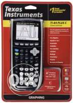 Texas Instruments TI-84 Plus C Silver Edition Graphing Calculator has