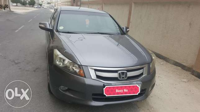 Honda accord 2008 . Expat second owner for along time.