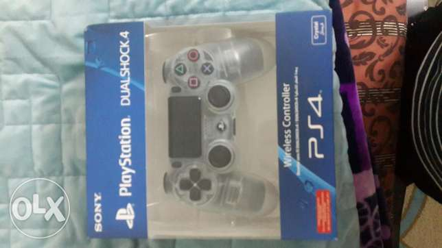 new sealed crystal colour ps4 controller for sale