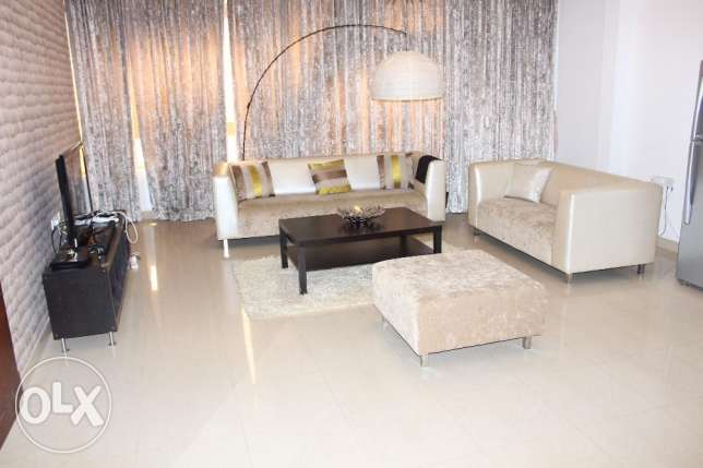 Two bedroom fully furnished apartment in juffair/navy