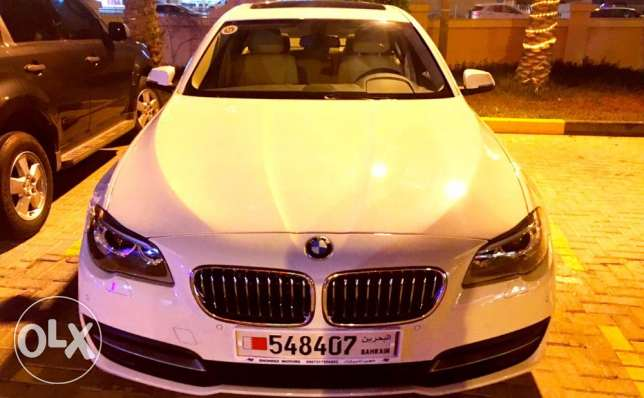2015 BMW 520i with GCC Specs.