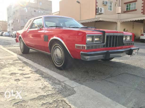 For sale Dodge diplomat Model 1981