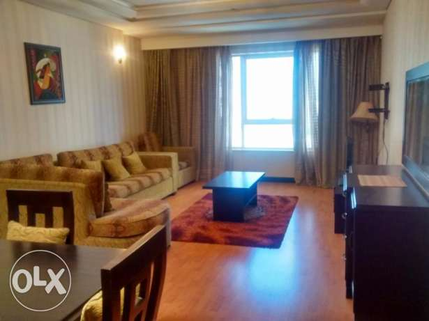 Full furnished 1 bedroom apartment for rent at Abraj Al Lulu