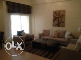 Two bedroom furnished apartment for rent in sanabis rent 550