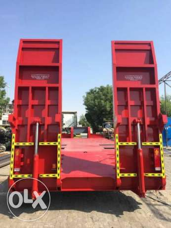brand new lowbed trailers for sale with 3m neck and five year warranty