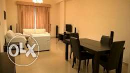 *Near Seef* 1 bedroom furnished apartment with balcony, pool, gym